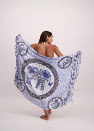 Blue Elephant Sarong