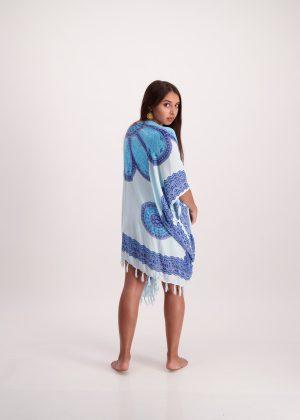 Lapis Lazuli Kimono