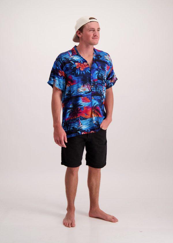 Midnight Tropical Shirt