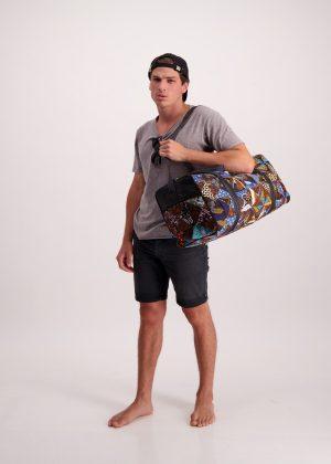 Batik Duffle Bag